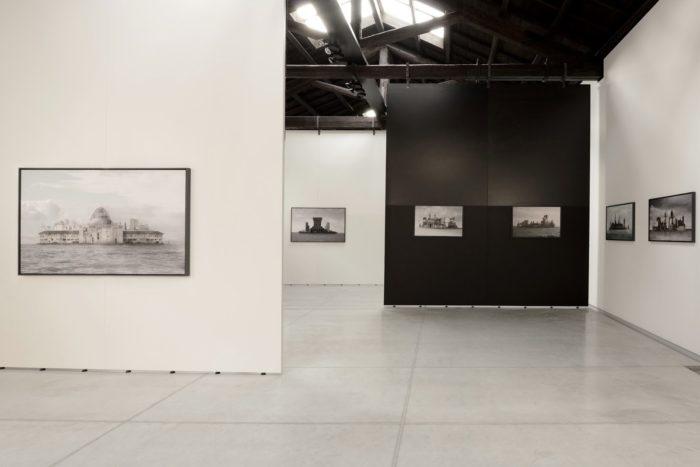 Vue de l'exposition Philippe Calandre | Fondaco Degli Angeli.