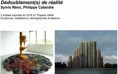 SYLVIE RENO, PHILIPPE CALANDRE | Espace Vallès | St-Martin-d' Hères